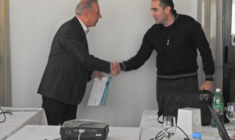 Свечено доделување на сертефикати за успешно посетена обука за соларни системи