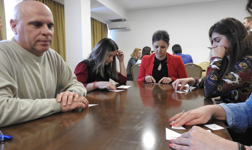"""Претставници од """"Солар Македонија"""" учествуваа во обуката за организациски менаџмент"""