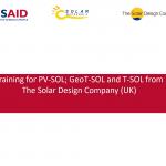 Членките на Солар Македонија ја посетија обуката за коритење на софтверите: PV-SOL, T-SOL, Geo T-SOL од страна на Solar Design Company (UK)